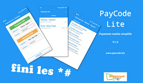 Paycode Lite - BuiltInTg